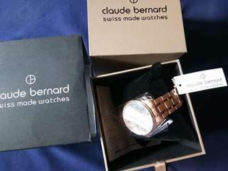 BRAND NEW Claude Bernard Authentic Wrist Watch for Sale!
