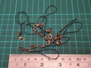 diy銅色電話繩(手工)