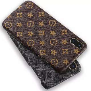 Louis Vuitton LV iPhone Case Genuine Leather