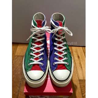 CONVERSE 1970 CHUCK TAYLOR ALL STAR HI ct70 ct70s nigo US9 二手  , not addict madness timeline time line wtaps 70 70s 1970s
