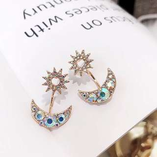 (PO) *Exclusive* Starry Night Diamanté Earrings