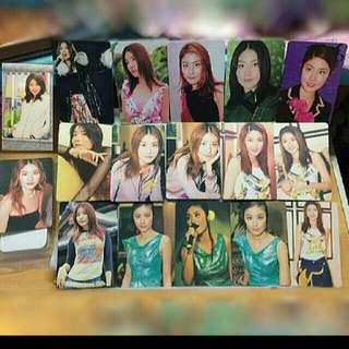 41張絕版 陳慧琳 kelly chen yes card 閃卡&白卡&貼紙卡