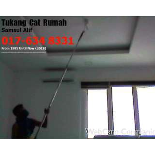 Tukang Cat Rumah area Gombak Samsul alif 017-634 8331