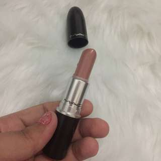 Authentic Mac Lipstick in Blankety (Amplified Finish)