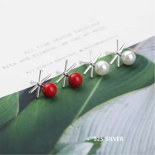 S925 Korea Fashion Ear Studs