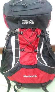 [USED] Royal Mountain Carrier 65L