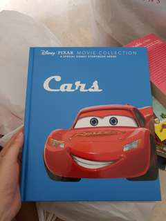 Hardcover Cars & Finding Dory