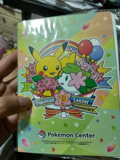 Pokemon 20th Anniversary Limited Edition Photo Album Exclusively From Japan!!