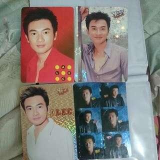 20張 alec 蘇有朋 yes card 閃卡&白卡&貼紙卡