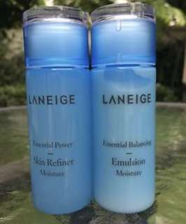Laneige Basic Care Essential (50ml bt) - Power Skin Refiner & Balancing Emulsion Moisture