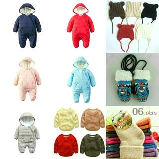 Infants Winter Wear! MY