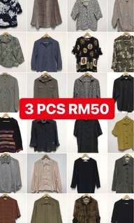 3 for rm50 onlyyy!