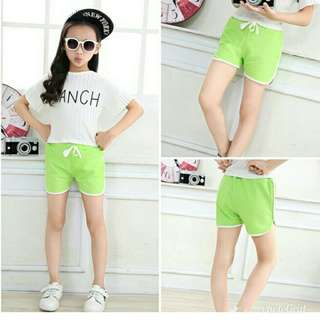 new  candy color girls short hot summer boys beach pants shorts