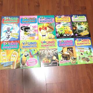 10 issues Young Scientists Level 3 (almost new)