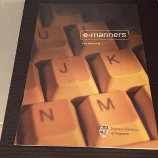 E-manners Book