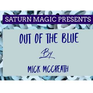 Out of the Blue by Mick Mccreath magic trick