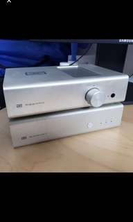 Headphone amplifier schiit Asgard and bit