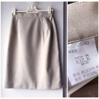 Vintage Japanese pencil skirt brand new condition for work office formal wear