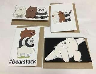 We Bare Bears cards