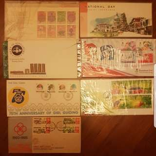 First Day covers and Stamps