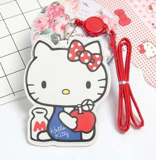 PO Sanrio Characters Cut Out Card Holder w Lanyard