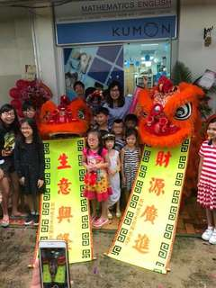 Lion & Dragon Dance Performance