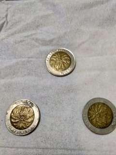Uang Logam Unik 1000 tahun 1994 & 1996 just Send Me DM