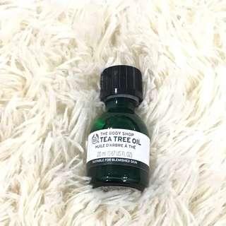 [REDUCED] The Body Shop Tea Tree Oil (20ml)