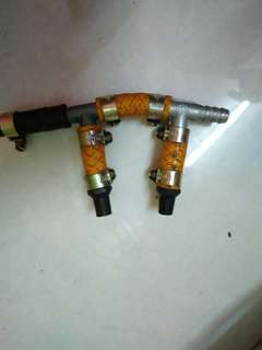 Twin mini turbo