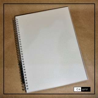Muji Inspired Notebook (Dotted)