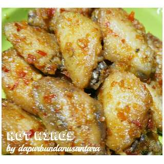 Sayap ayam (Hot wings)