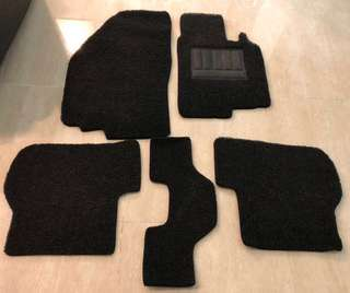 WTS Used 20mm Think Car Mat For VW Golf MK5