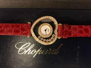 Chopard happy diamond yellow gold