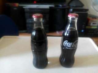 New vintage UK original coke bottles