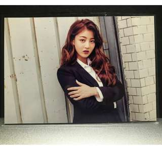 Twice Jihyo Once Begins Official Postcard