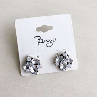 Berry Statement Earring