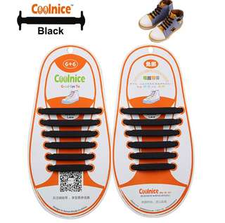 Coolnice No-tie Silicone Shoelace Kids