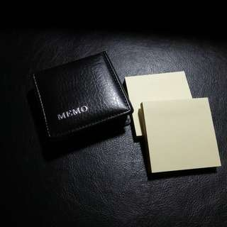 Stick on notes in a Memo Pad. Brand new, never used