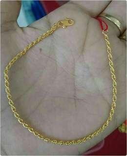 [PREORDER] 916 Gold Bracelet