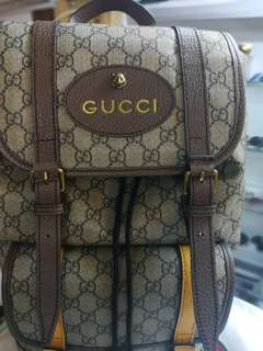Gucci supreme GG backpack hand bag