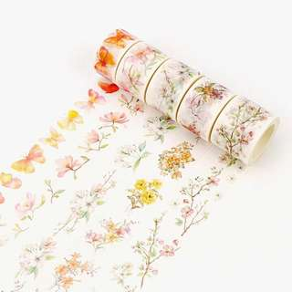 (PO) Spring's Arrival Washi Tapes