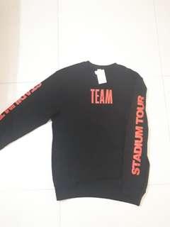 bieber stadium tour purpose tour crewmeck / sweater
