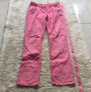GapKids long pants pinggang 12inc panjang 33inc