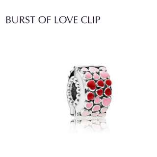 Bnis pandora BURST OF LOVE CLIP