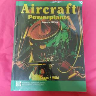 Aircraft Powerplant 7th edition by Kroes & Wild