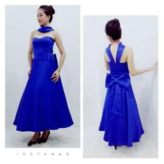 Dress blue metalic