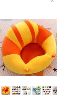 Cute infant baby support soft seat