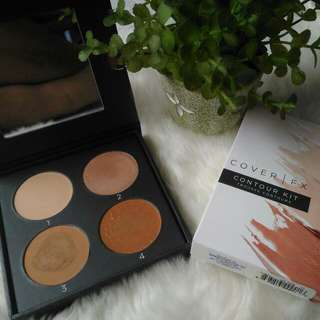 Authentic CoverFX Contour Kit (Swatched Only)