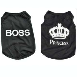 Pet Boss/Princess Clothing