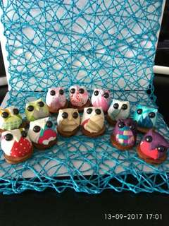 Adorable Handsewn Baby Owlets